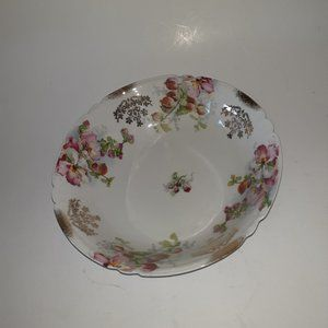 VTG 1920s Bavaria Hand Painted Fruit Serving Bowl
